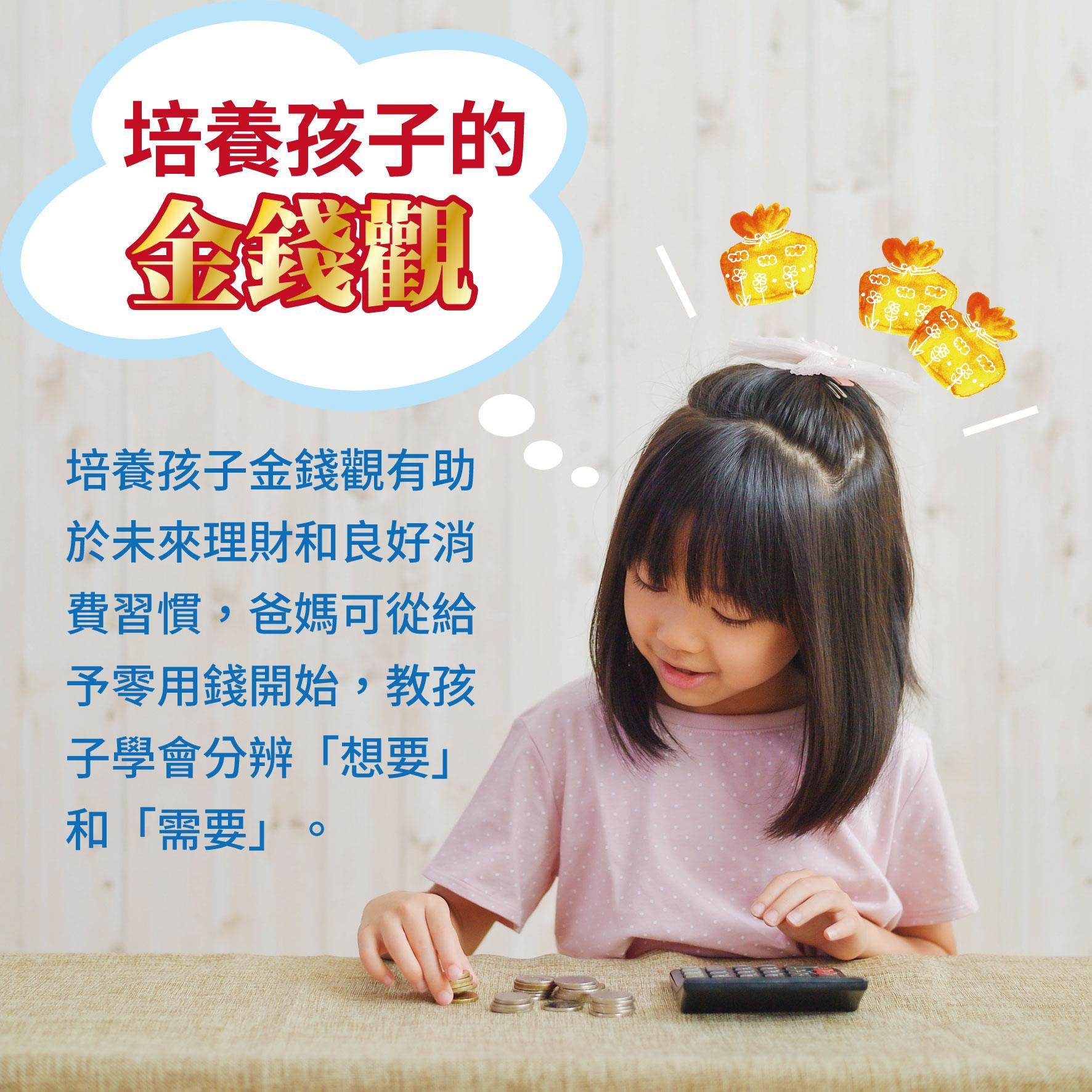 幼兒6歲(第44週)培養孩子的金錢觀