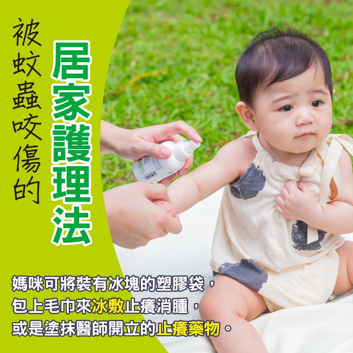 寶寶篇第43週-被蚊蟲咬傷的居家護理法