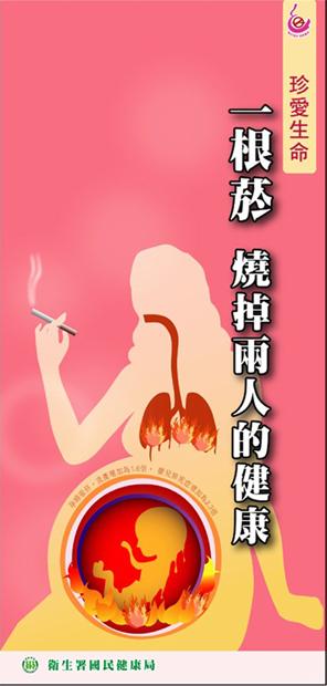 一根菸 燒掉兩人的健康