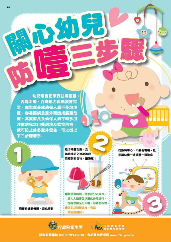 幼兒防噎三步驟
