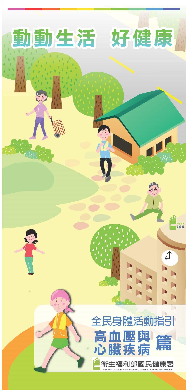 全民身體活動指引-高血壓及心臟疾病篇