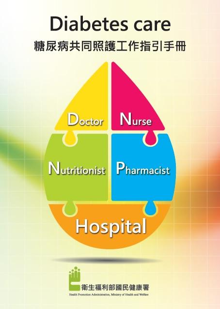 糖尿病共同照護工作指引手冊