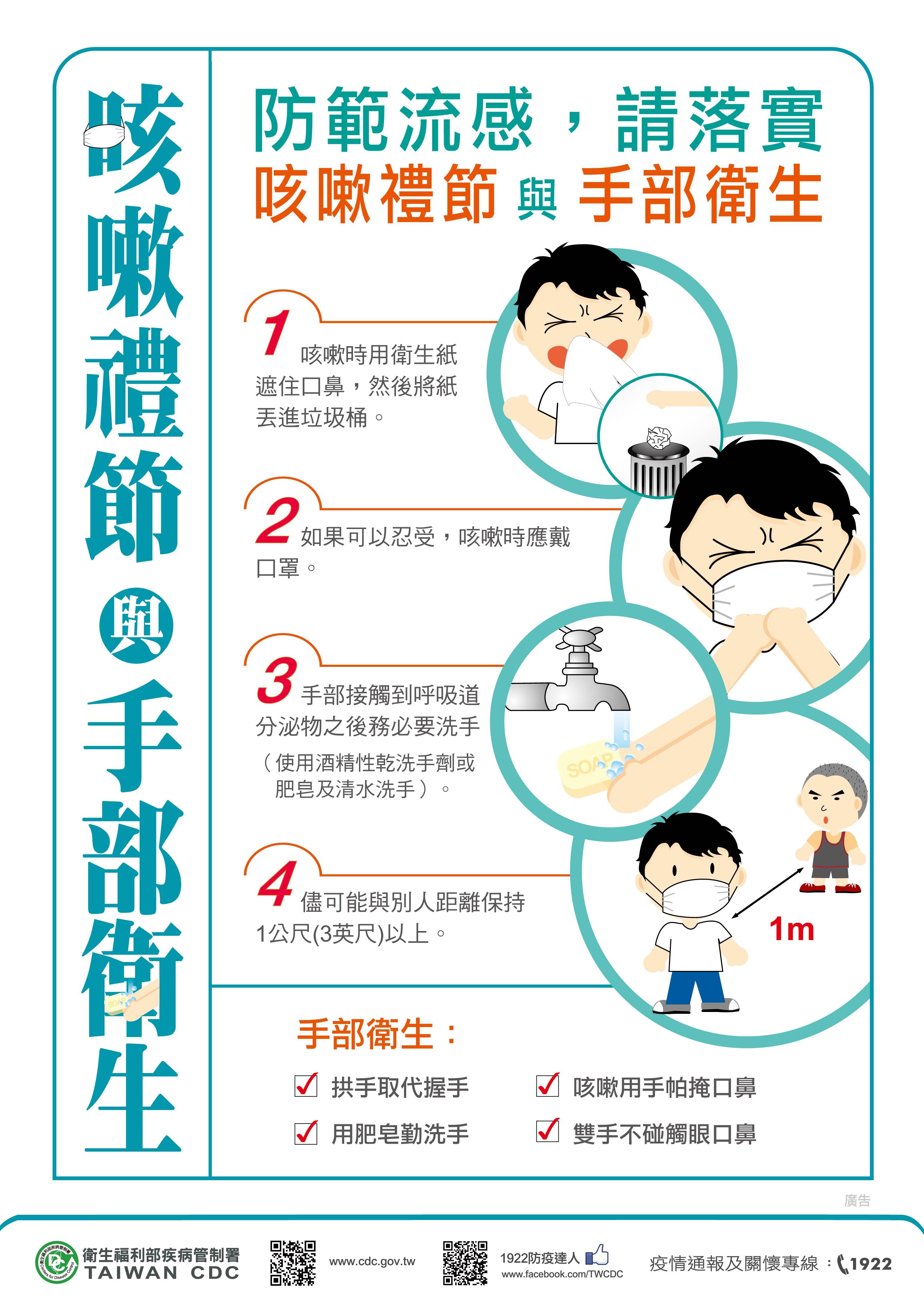 呼吸道衛生與咳嗽禮節