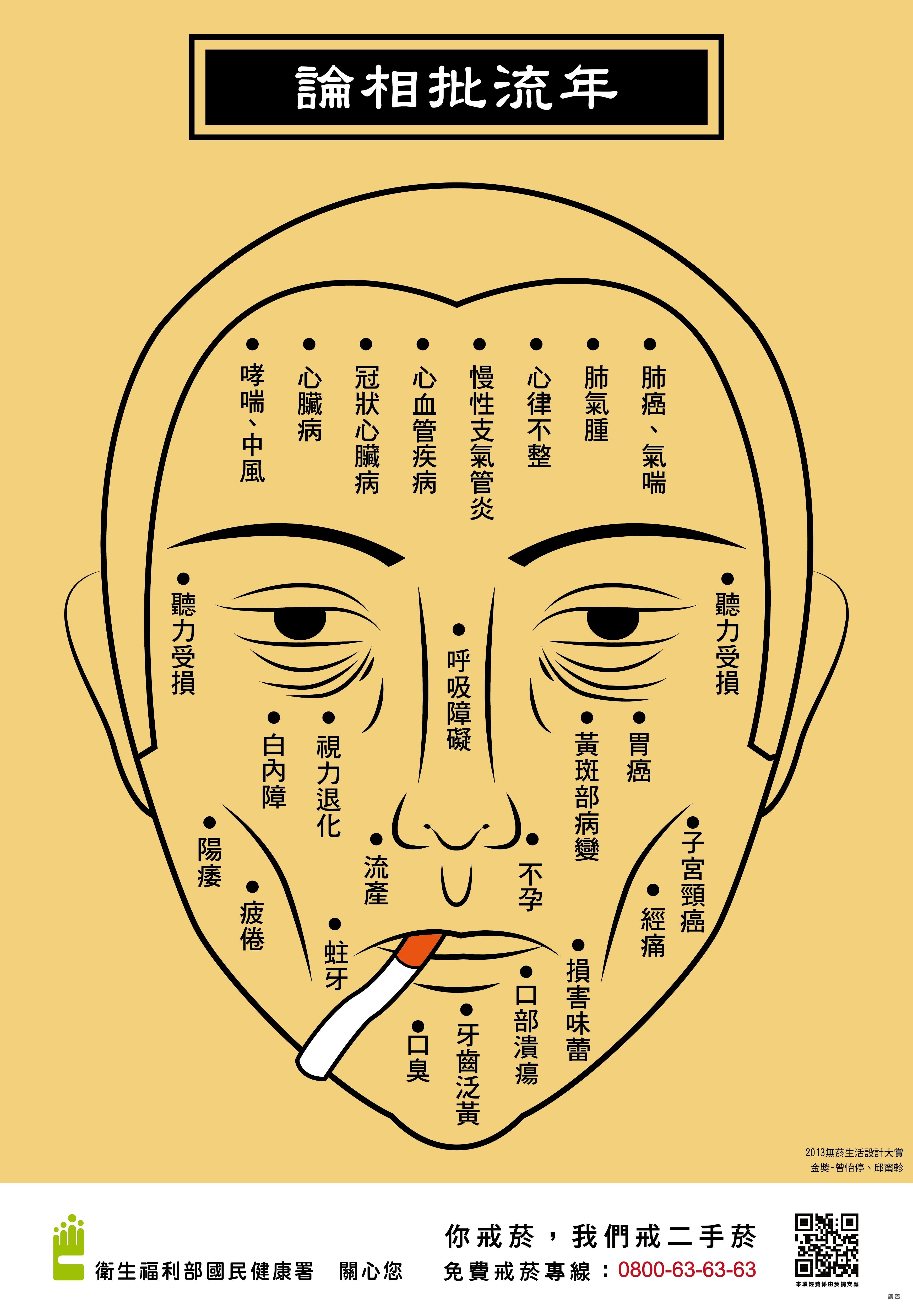 論相批流年-你戒菸,我們戒二手菸(2013無菸生活得獎作品)