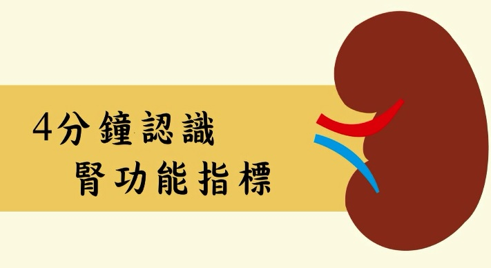4分鐘認識腎功能指標(藝起燃燒健康魂設計競賽得獎)