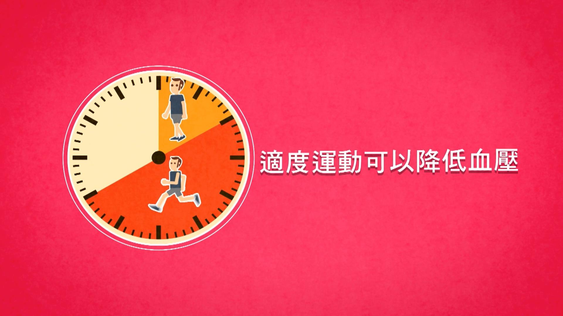 適度運動可以降低血壓