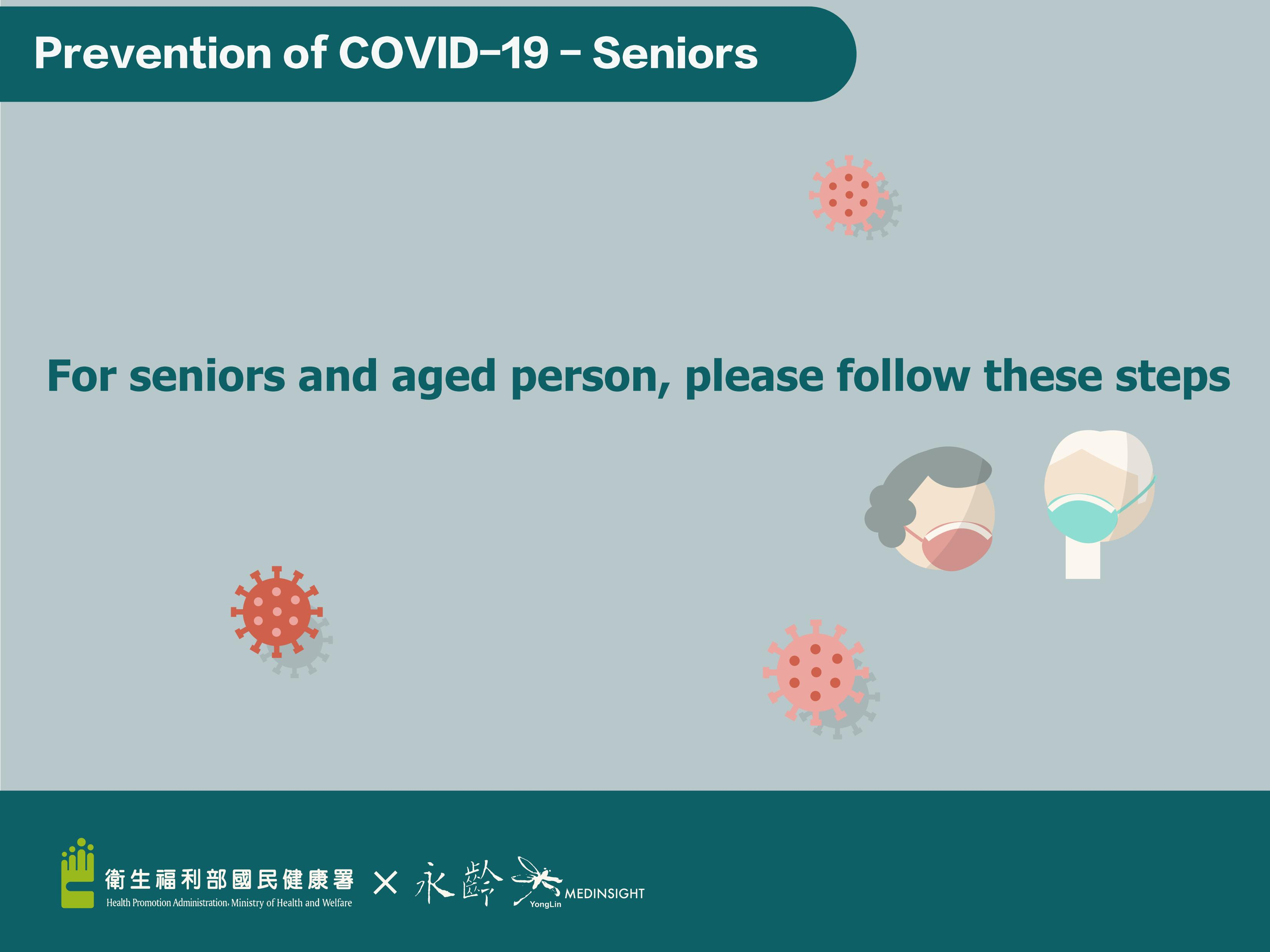 Prevention of COVID-19 - Seniors (English)